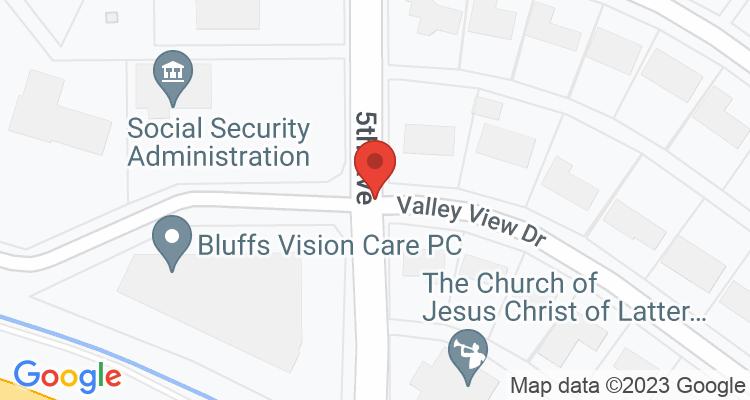 Scottsbluff, NE Social Security Office Map
