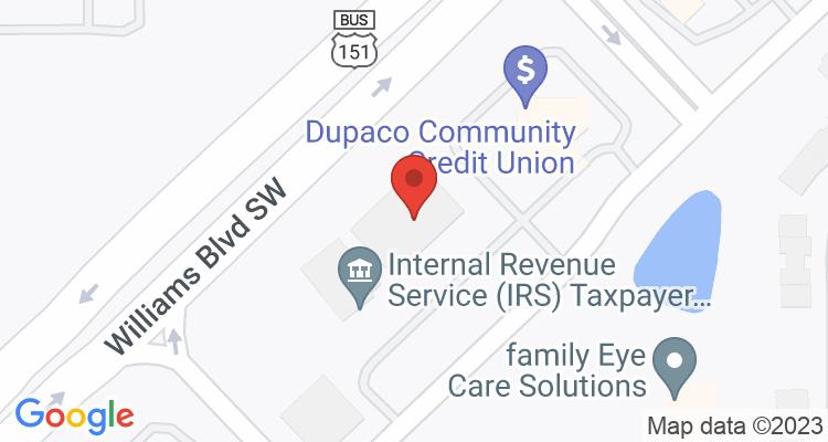 Cedar Rapids, IA Social Security Office Map