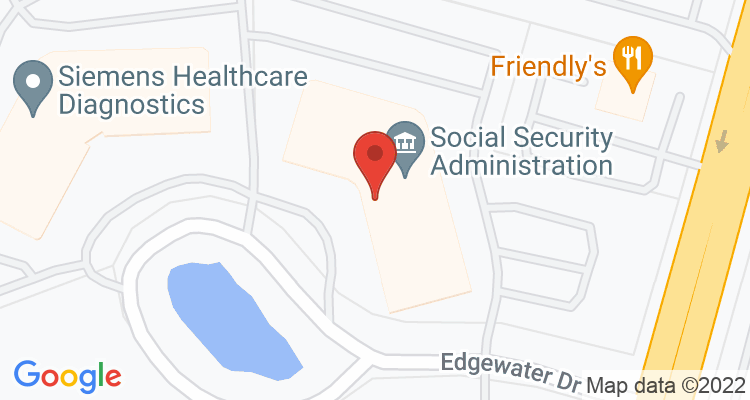 Norwood, MA Social Security Office Map