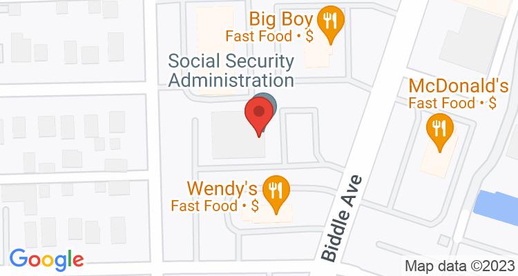 Wyandotte, MI Social Security Office Map