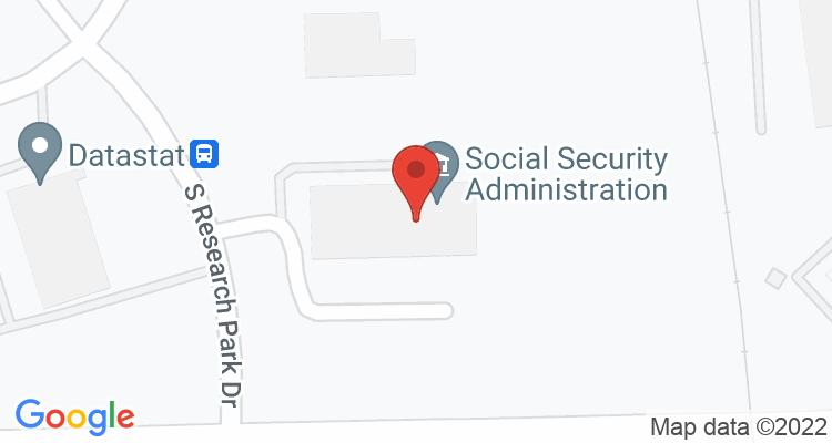 Ann Arbor, MI Social Security Office Map