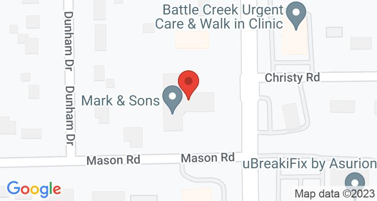 Battle Creek, MI Social Security Office Map