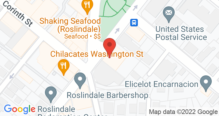 Roslindale, MA Social Security Office Map