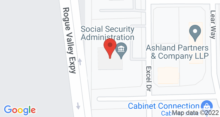 Medford, OR Social Security Office Map