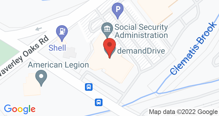 Waltham, MA Social Security Office Map