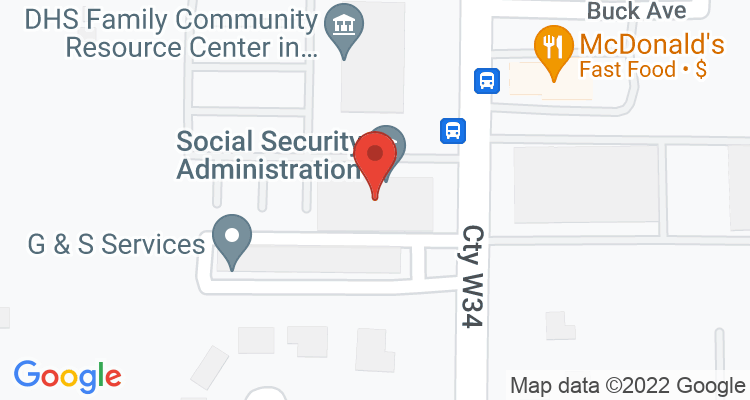 Waukegan, IL Social Security Office Map