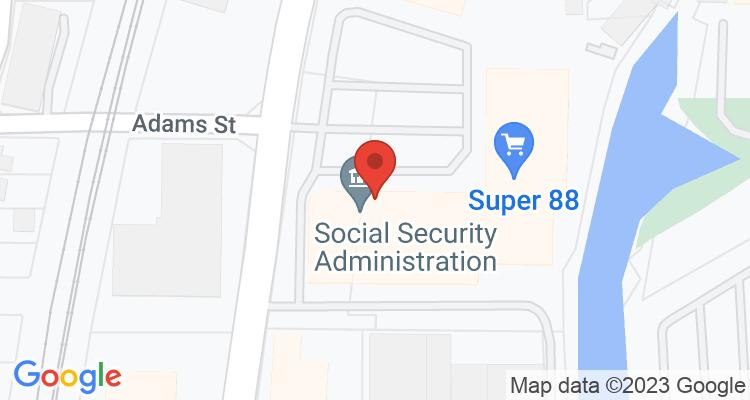 Malden, MA Social Security Office Map