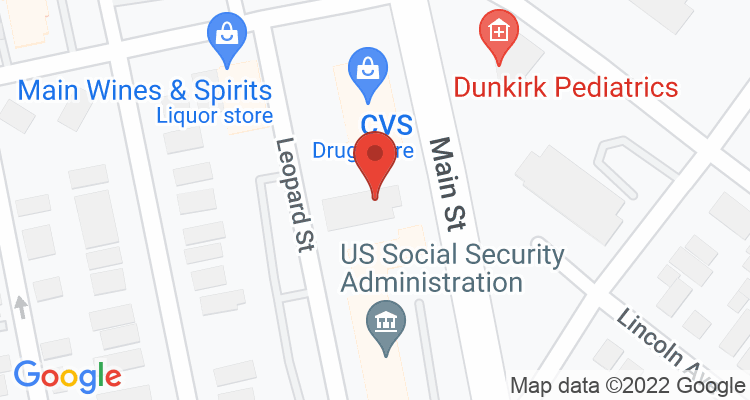 Dunkirk, NY Social Security Office Map