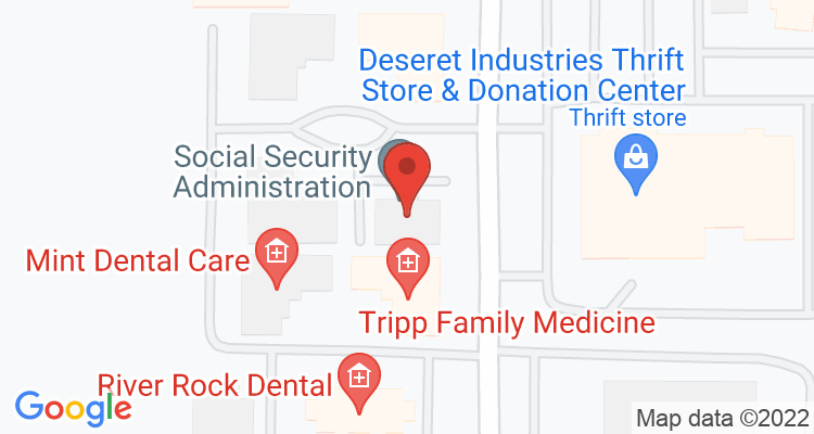 Twin Falls, ID Social Security Office Map