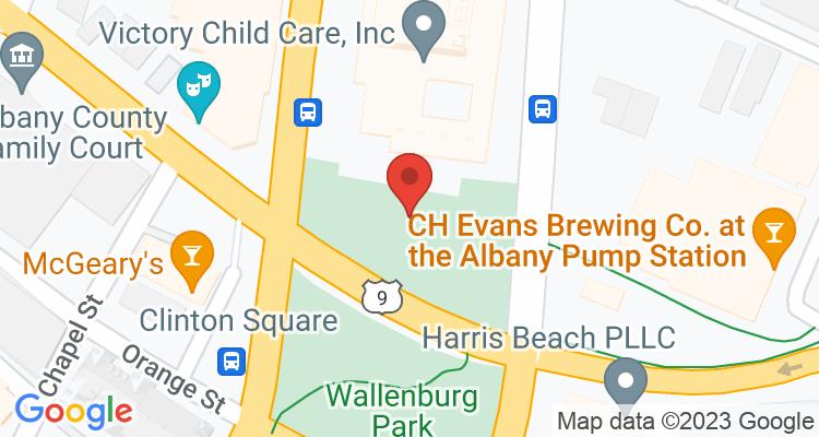 Albany, NY Social Security Office Map