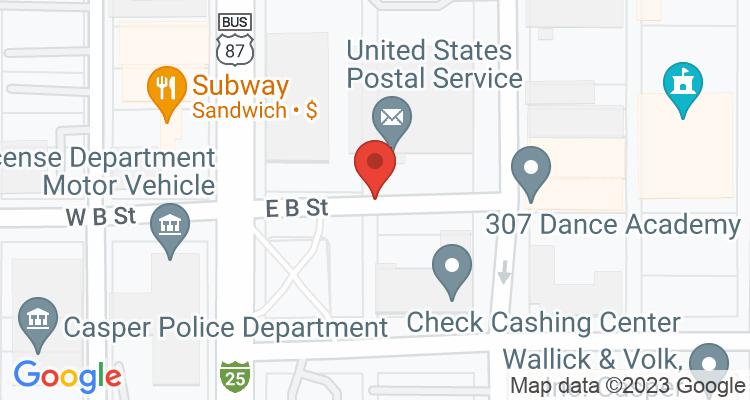Casper, WY Social Security Office Map
