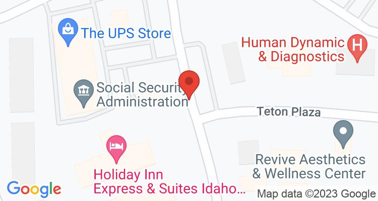 Idaho Falls, ID Social Security Office Map