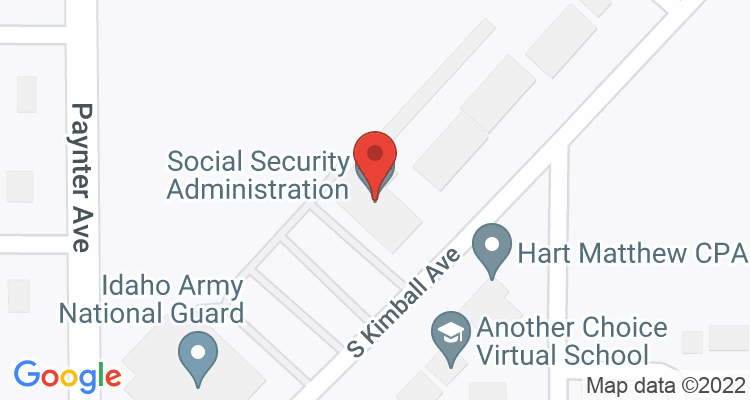Caldwell, ID Social Security Office Map