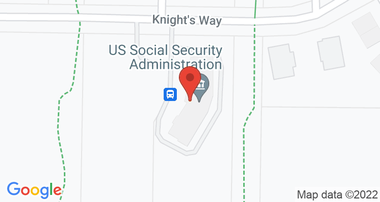 Fond Du Lac, WI Social Security Office Map