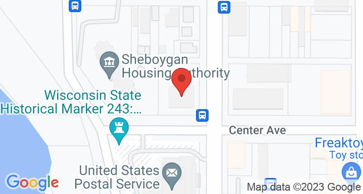 Sheboygan, WI Social Security Office Map