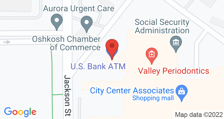 Oshkosh, WI Social Security Office Map
