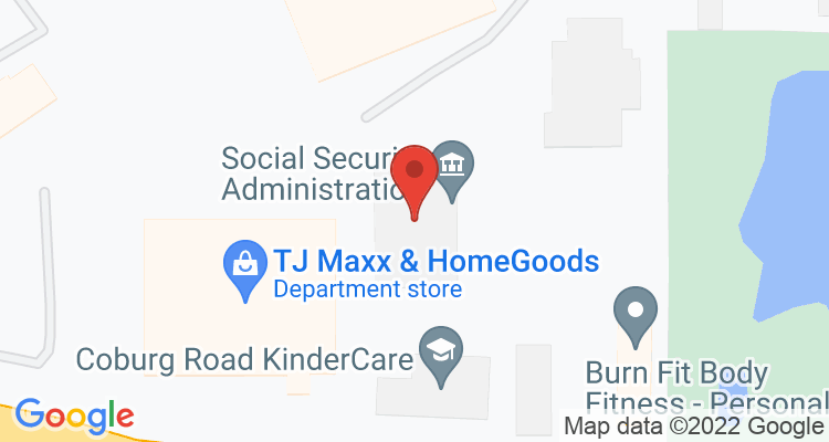 Eugene, OR Social Security Office Map