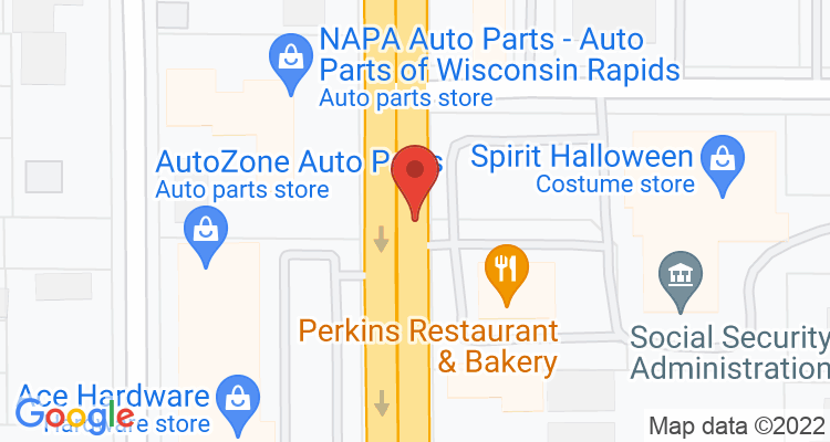 Wisconsin Rapids, WI Social Security Office Map