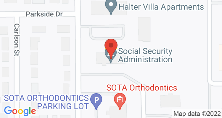 Marshall, MN Social Security Office Map