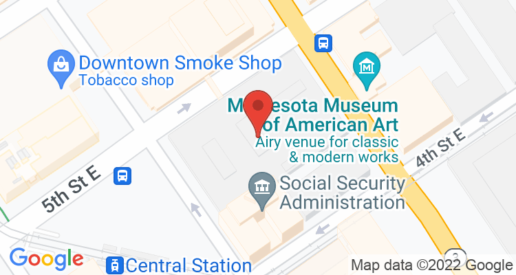 St Paul, MN Social Security Office Map