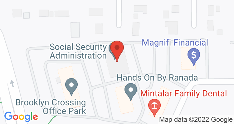 Brooklyn Center, MN Social Security Office Map