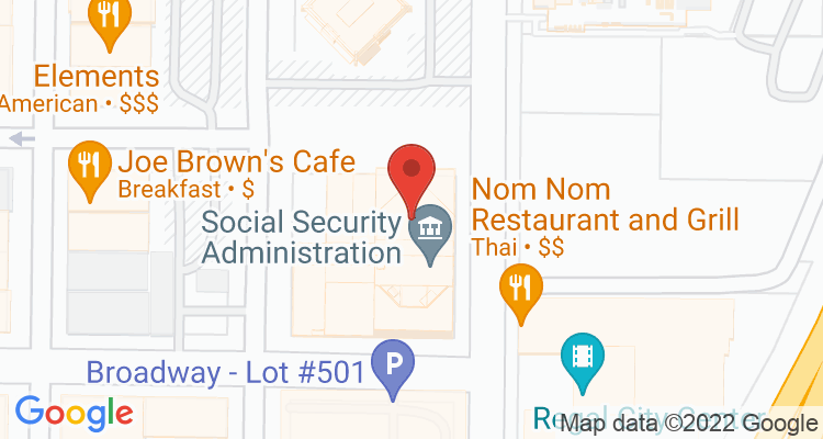 Vancouver, WA Social Security Office Map