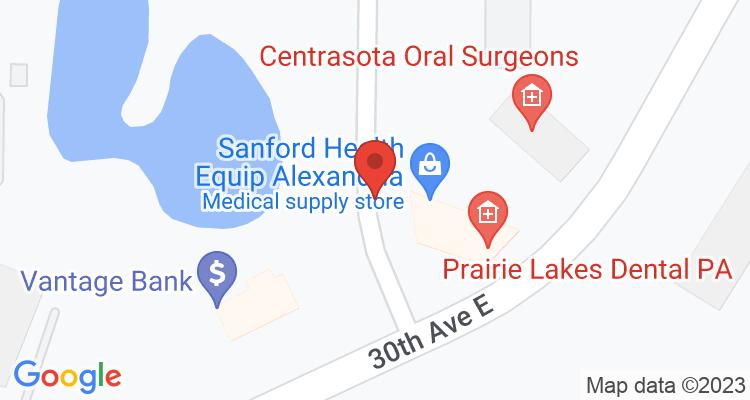 Alexandria, MN Social Security Office Map