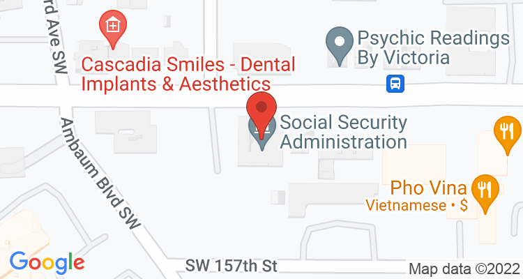 Burien, WA Social Security Office Map
