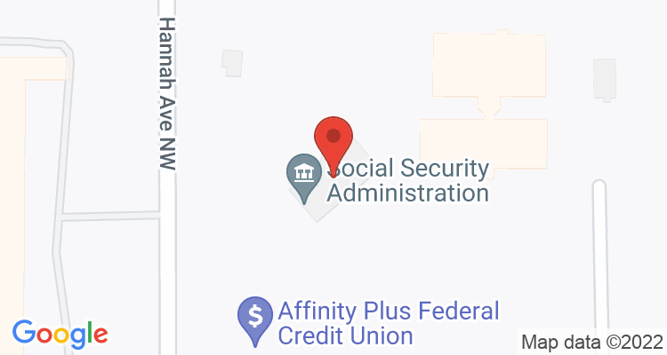Bemidji, MN Social Security Office Map