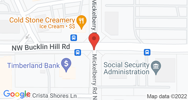 Silverdale, WA Social Security Office Map