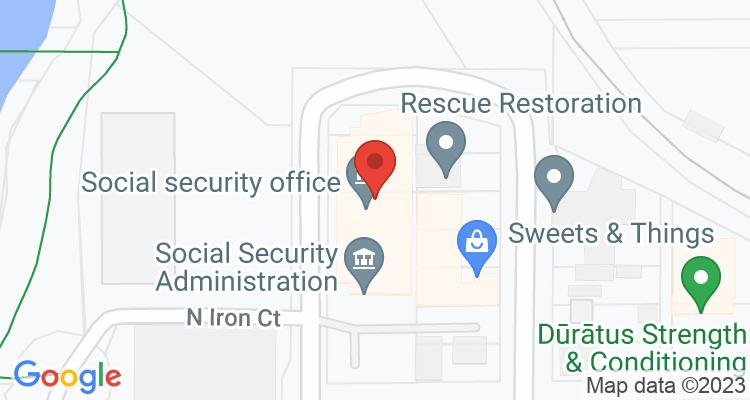 Spokane, WA Social Security Office Map
