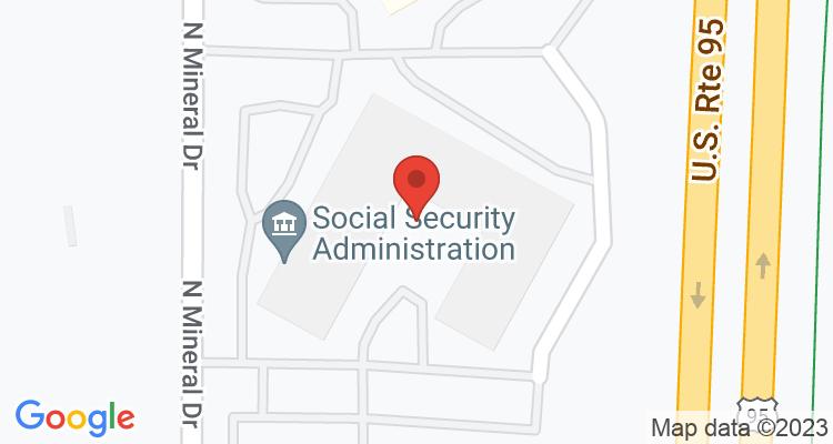 Coeur D Alene, ID Social Security Office Map