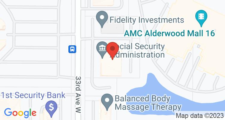 Lynnwood, WA Social Security Office Map
