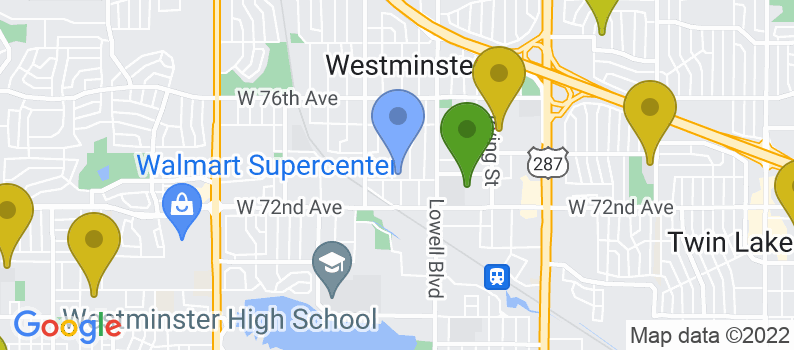 Staticmap?size=397x175&scale=2&center=3805+w+73rd+avenue+westminster,+co+80030&zoom=13&markers=color:blue%7c3805+w+73rd+avenue+westminster,+co+80030&markers=color:0x559f23%7c39.828514, 105.03167&markers=color:0x6ba721%7c39.75919, 105.018394&markers=color:0x86b31f%7c39.772423, 105.031441%7c39.834164, 105.078484%7c39.838161, 105.11998%7c39.837242, 105.092003%7c39.877281, 105.085884%7c39.871952, 105.073822&markers=color:0xa3be1e%7c39.815735, 105.117783%7c39.895931, 105.063599%7c39.873199, 105.102325%7c39.826263, 105.11792%7c39.897968, 105.045242%7c39.867172, 105.09185%7c39.79351, 105.035011&markers=color:0xbdc01d%7c39.767395, 105.008392%7c39.764877, 105.039986%7c39.767784, 105.015289%7c39.798107, 105.086044%7c39.853523, 105.068558%7c39.81361, 105.073372%7c39.830395, 105.121696%7c39.869545, 105.065643%7c39.872116, 105.080307%7c39.838535, 105.020096%7c39.851864, 105.02401%7c39.857277, 104.958145%7c39.837662, 104.974571%7c39.768555, 105.043732&markers=color:0xd2b81a%7c39.786179, 105.017845%7c39.776894, 104.986168%7c39.814831, 105.091454%7c39.84922, 105.088806%7c39.821285, 105.063744%7c39.846325, 105.093468%7c39.870621, 104.990303%7c39.824764, 105.003052%7c39.860992, 105.03373%7c39.829945, 105.016014%7c39.869053, 105.028938%7c39.775009, 105.009445%7c39.836685, 104.99099%7c39.850166, 104.997986%7c39.773624, 105.003235%7c39.823177, 105.071175%7c39.775009, 105.009445%7c39.825974, 105.080193%7c39.832218, 105.028984&markers=color:0xdca219%7c39.772652, 105.023514%7c39.804817, 105
