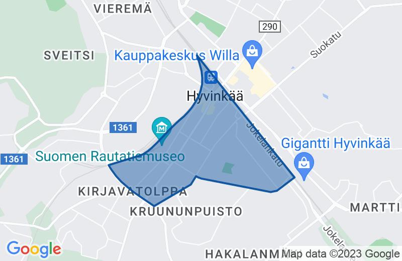 Alueen kartta