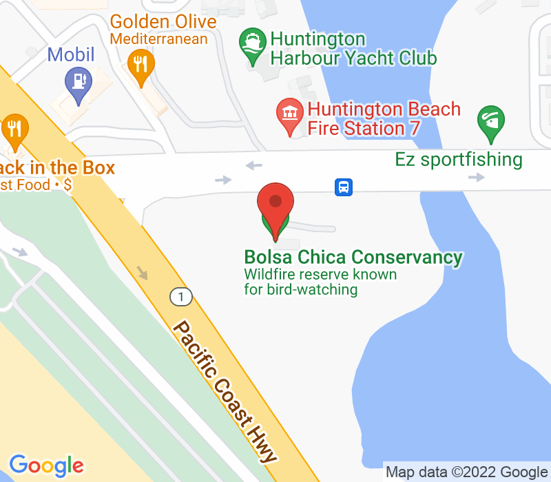Map of 3842 Warner Avenue 