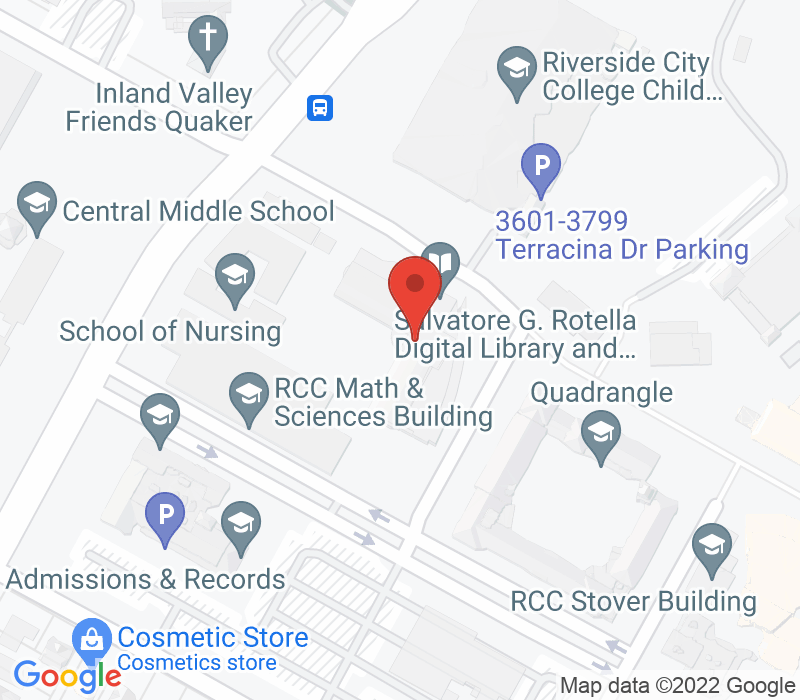 Map of 4800 Magnolia Ave, Riverside, CA 92506