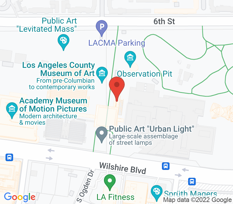 Map of 5905 Wilshire Blvd. Los Angeles, CA 90036