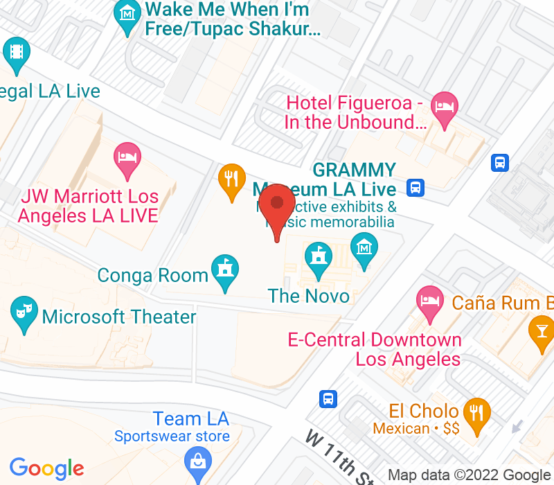 Map of 800 W. Olympic Blvd. A245, Lost Angeles, CA 90015