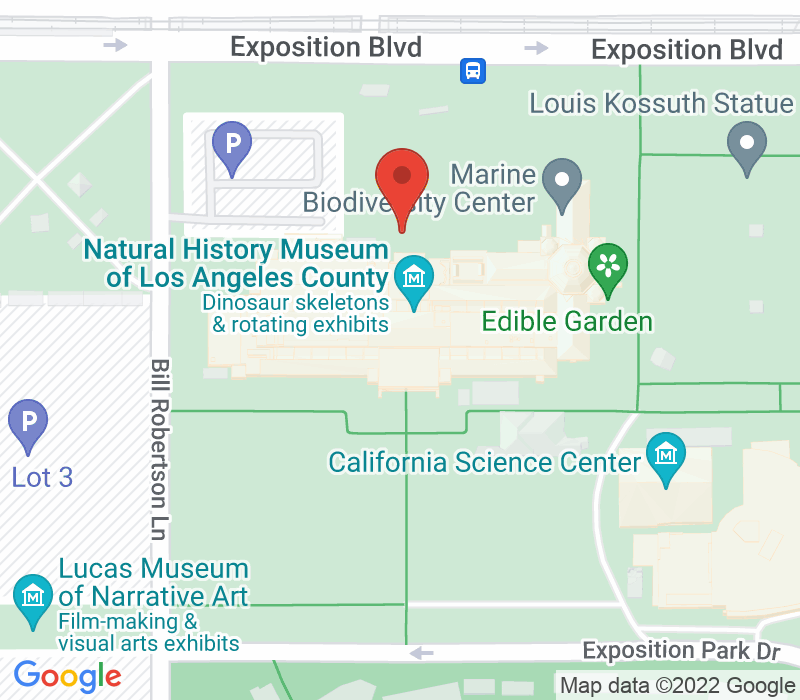 Map of 900 Exposition Blvd. Los Angeles, CA 90007
