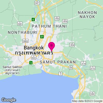 Bangkok Städtereisen Karte