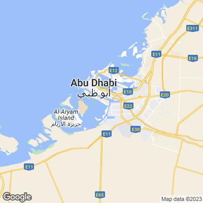 Karte von Abu Dhabi