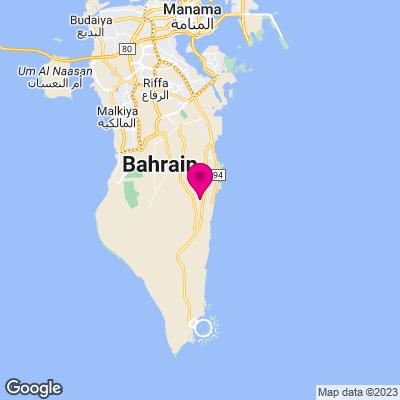 Bahrain Städtereisen Karte