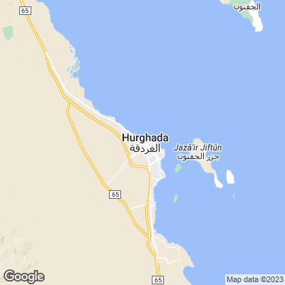 Hurghada Karte