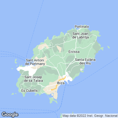 Ibiza Karte