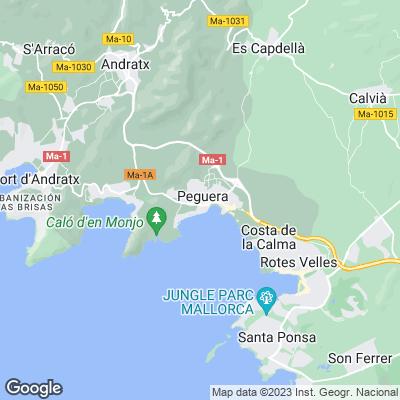 Karte von Paguera