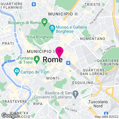Karte von Rom