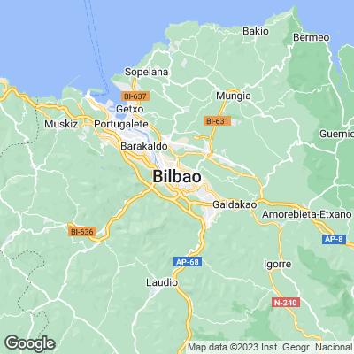 Bilbao Städtereisen Karte