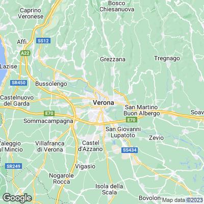 Karte Verona