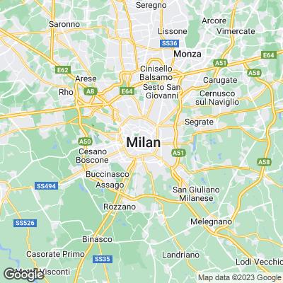 Städtereisen Mailand Karte